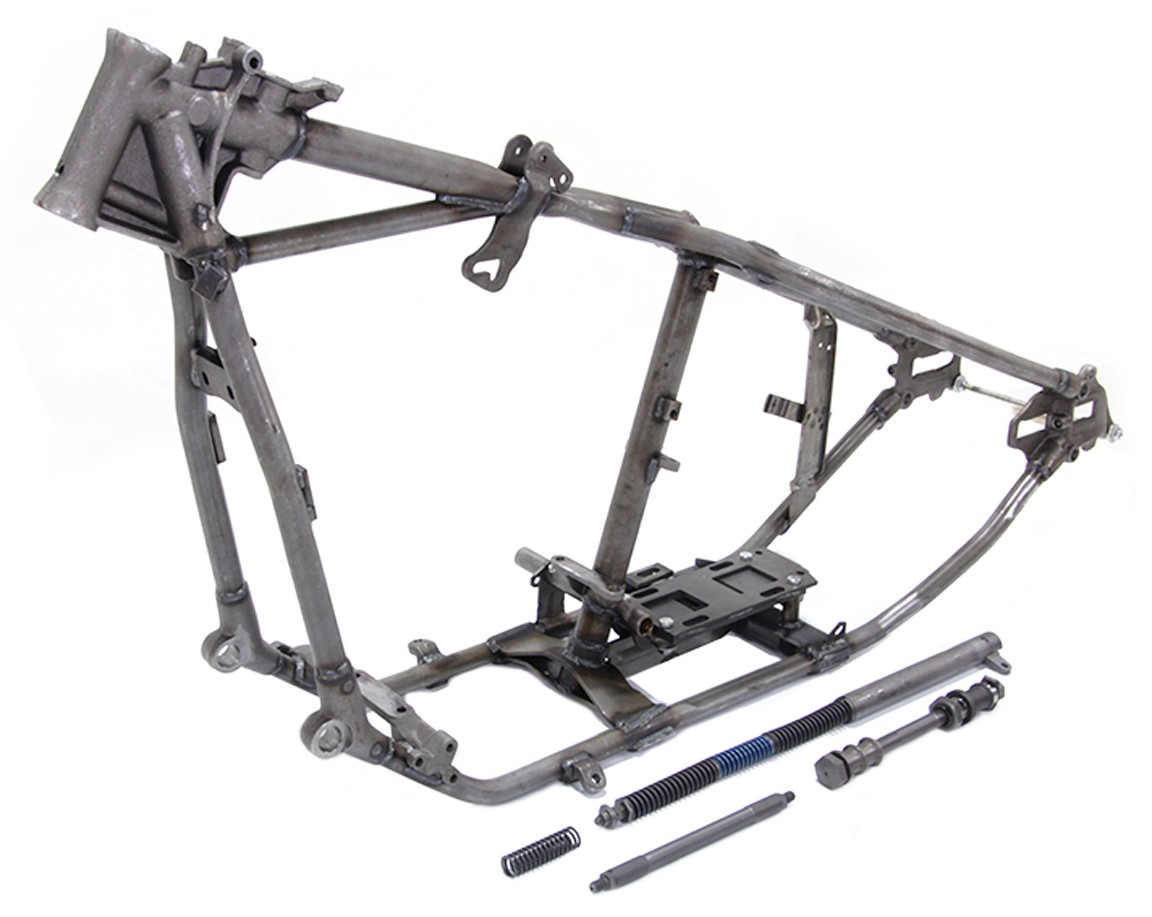 FRAME for 1949 - 1951 Harley Pan - FRAMES - Rigid Wishbone Leg - Chassis