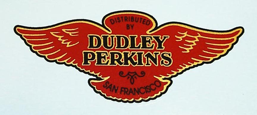"""""""Dudley Perkins"""" DECAL"""