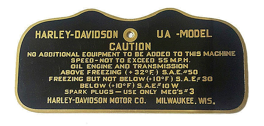 WW2 CAUTION TAG for UA Gas Tanks