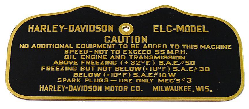 WW2 CAUTION TAG for ELC Gas Tanks